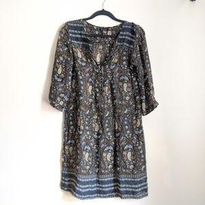 Massimo Dutti Paisley Dress
